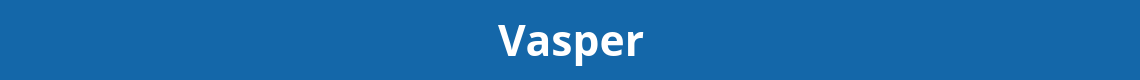 Vasper program blue banner